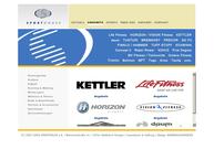 Website von Sport House
