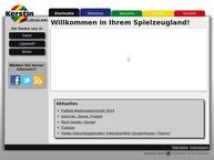 Website von Spiel + Freizeit Kerstin
