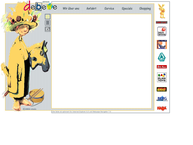 Website von Debewe der Spielzeugladen Beatrix Wilms