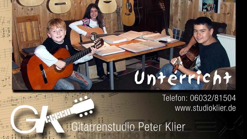 Gitarrenstudio Peter Klier, Musikschulen, Gesangsschulen in Bad ...