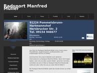 Website von Radsport Manfred Müller