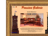 Website von Hotel Pension Galerie