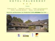 Website von Hotel Falderhof Rudolf Peer KG