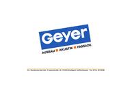 Website von Geyer GmbH
