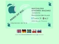 Website von Zahnarztpraxis Magdalena Otremba