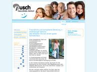 Website von Sanitätshaus Busch Gesundheits-Zentrum Unterwagner GmbH &  Co KG