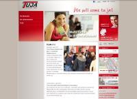 Website von Tuja Zeitarbeit GmbH