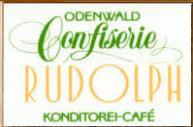 Odenwald Confiserie Rudolph Konditorei-Cafe