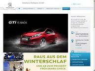 Website von Autohaus Muellejans OHG