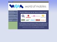 Website von World Of Mobiles GmbH