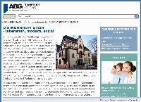Website von Wohnheim GmbH