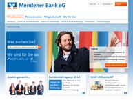 Website von Spar- und Darlehnskasse eG Menden-Bösperde