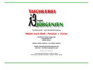 Website von Tischlerei Hauke Jürgensen