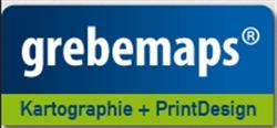Grebemaps Kartographie + Printdesign