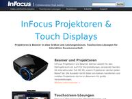 Website von Copyright  Infocus GmbH