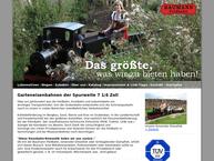 Website von Baumann Modellspielwaren