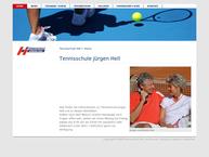 Website von Tennishalle Immenstadt