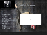 Website von Danceart-Reutlingen