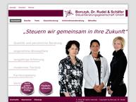 Website von Gabriele Borczyk Borczyk Dr. Rudel und Schaefer GmbH
