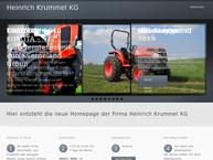 Website von Heinrich Krummel KG