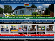 Website von Pension Zur Burg