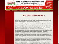 Website von Hotel Waldschlößchen