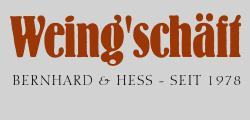 Weing'schäft Bernhard & Hess