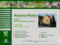 Website von Reiterhof Rödlas
