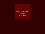 Website von Krätzler W. Mona Antiquitäten