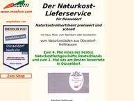 Website von Naturkost Holthausen