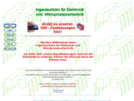 Website von Peter Huber Ing. Buero Fuer Elektronik