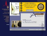 Website von Winzergenossenschaft Escherndorf eG