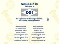Website von Isg Schäfer GmbH