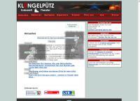 Website von Klüngelpütz - Kabarett Theater