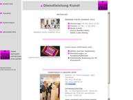 Website von Kunsthaus & Galerie Keim