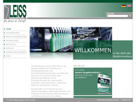 Website von Leiss GmbH Fritz Leiss