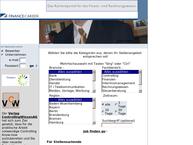 Website von Financecareer