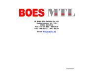 Website von M. Boes MTL GmbH & Co. KG