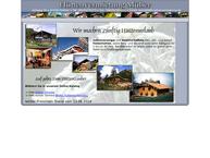 Website von Hüttenvermietung Müller