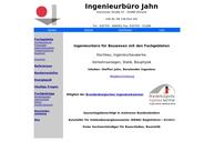 Website von Ingenieurbüro Jahn Beratende Ingenieurin im Bauwesen