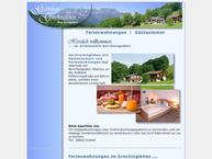 Website von Gästehaus Grechinglehen