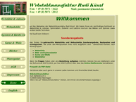 Website von Rudi Kuenzl Webstuhlmanufaktur