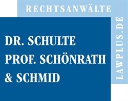Dr. Schulte, Prof. Schönrath und Schmid