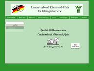 Website von Landesverband Rheinland-Pfalz der Kleingärtner e.V.
