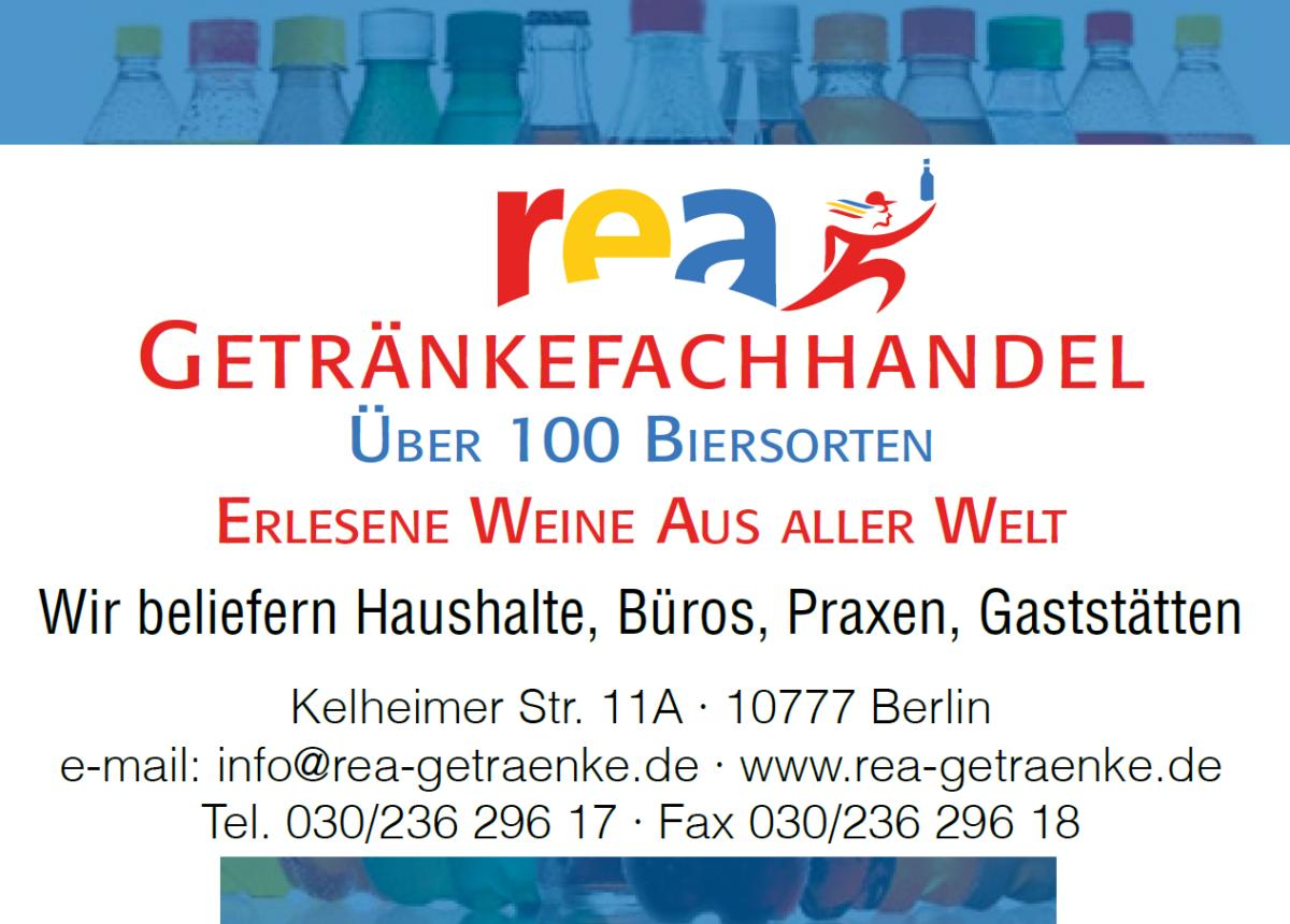 Rea-Getränkefachhandel Lieferservice, Getränke Einzelhandel in ...
