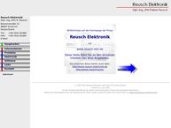 Website von Reusch Elektronik Dipl.-Ing. (Fh) r. Reusch