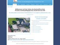 Website von Sfz Hof/Schwarzenbach