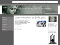 Website von Dorn Bestattungen GmbH