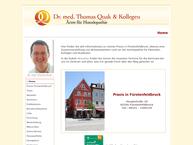 Website von Geißler Jan Dr. Homöopathisch-Therapeutisches Praxiszentrum