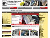 Website von Autositzbezüge Reissner